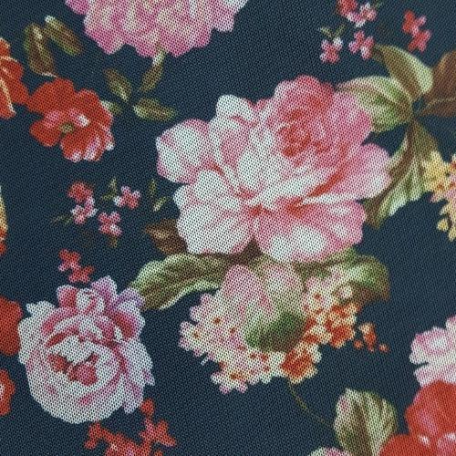 ET377 - TulleStretch Flowers Colors